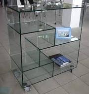 Торгоое оборудование из стекла